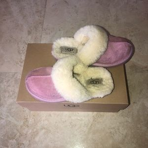 UGG Kid's Cozy slippers in Orchid (pink)